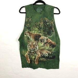 The Mountain Tiger Muscle Tee 2011 Tami Alba M